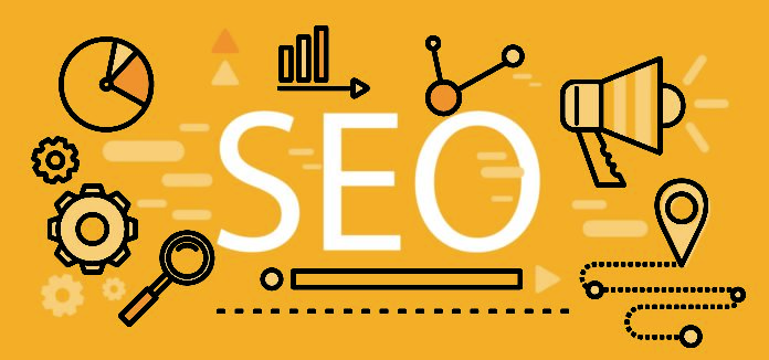 Seo Icons Line Thin Poster Pictogram Websites And Mobile Applications Search Engine Optimization Seo Optimization Programming Process And Web Anal
