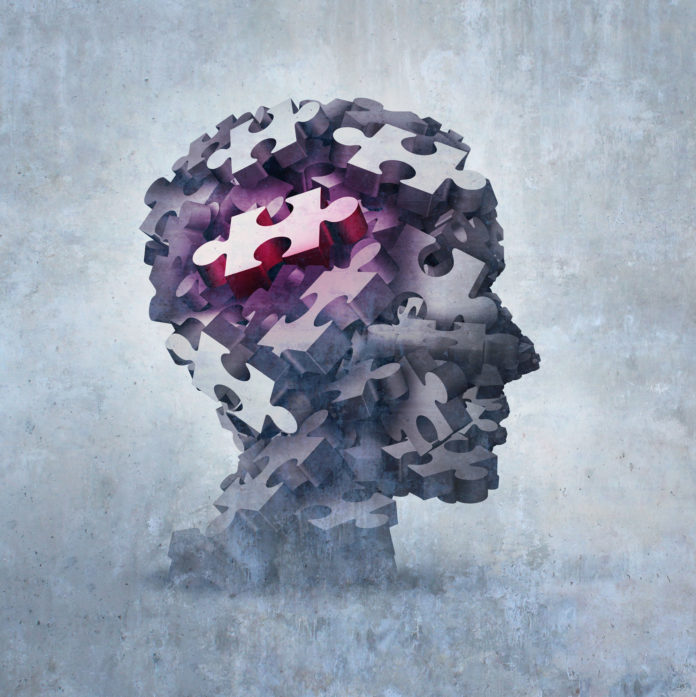 Neurosis Mental Disorder Concept As An Obsessive Behavior Psychiatric And Psychology Symbol As A 3D Illustration