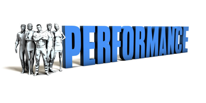 Performance Business Concept As A Presentation Background Performance Business Concept