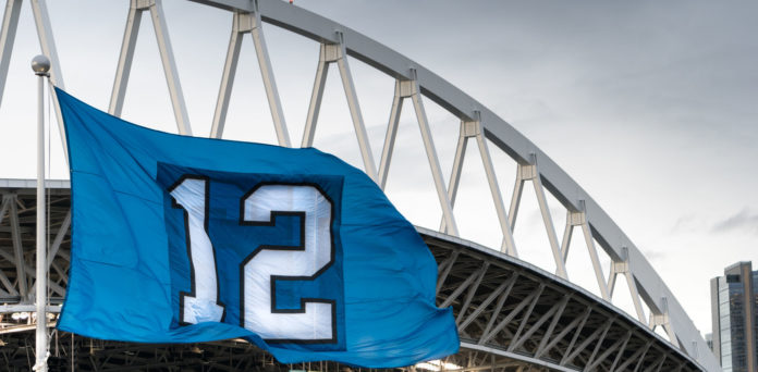 They Are Called The Twelves This Flag Is For The Fans Of The Seattle Seahawks