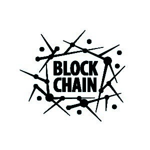 Vector Logo Blockchain Vector Logo Blockchain Abstract Technological Sign Design Element